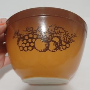 Pyrex Vintage Old Orchard Mixing Bowl #401